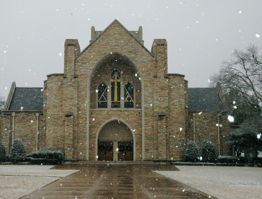 St. Stephen in the snow!
