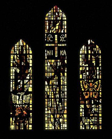 The Great Window of the Resurrection, St. Stephen Presbyterian Church, Fort Worth, TX